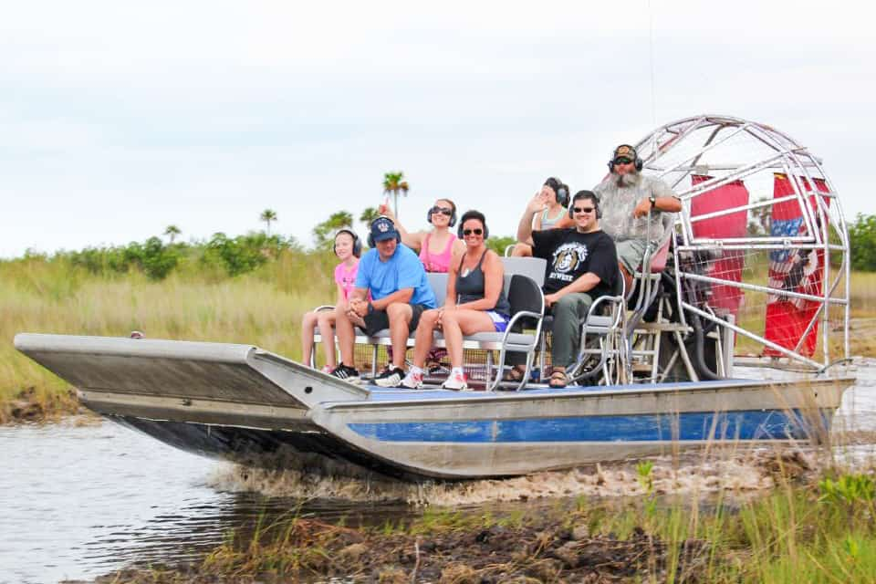 Parenting Alone in Naples, Florida # 23: Wooten's Everglades Airboat Tours